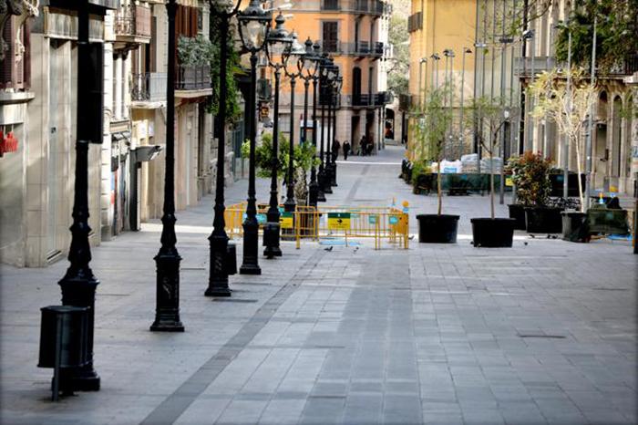 Barcelona, Valencia y Sevilla, las tres ciudades españolas con mayor caída del tráfico peatonal