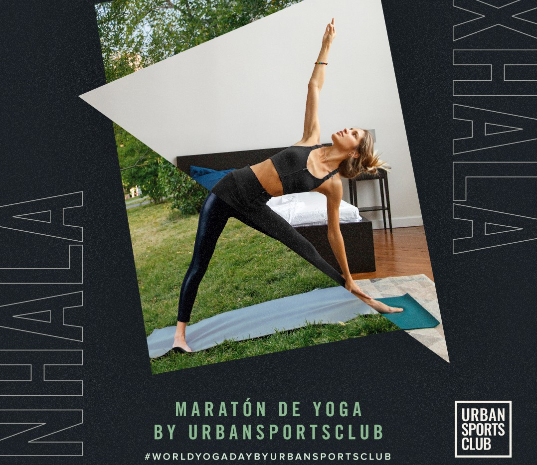 Urban Sports Club organiza un Maratón de Yoga de 12 horas