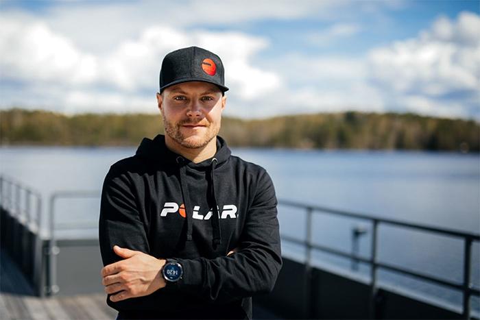El piloto de carreras Valtteri Botas, nuevo atleta Polar