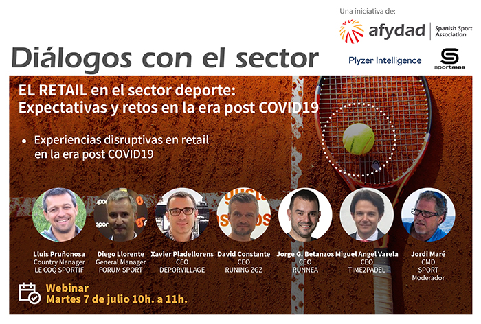 Afydad aborda los retos del retail deportivo en una nueva sesión de los Diálogos del Sector