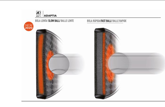 Bullpadel mejora la reacción y el control de sus palas con la tecnología Adaptia
