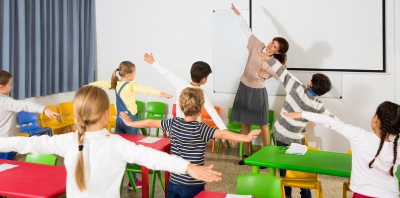 Editan la 'Guía de descansos activos' para mejorar el aprendizaje con la actividad física