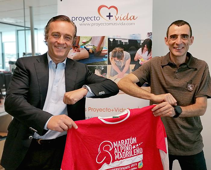 B+SAFE se alía con el Maratón Alpino Madrileño para cardioproteger Guadarrama