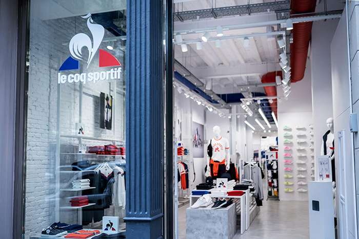 Le Coq Sportif inaugura su nueva tienda de Barcelona