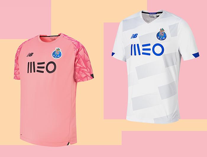 New Balance apuesta por los tonos claros en la tercera equipación del Porto