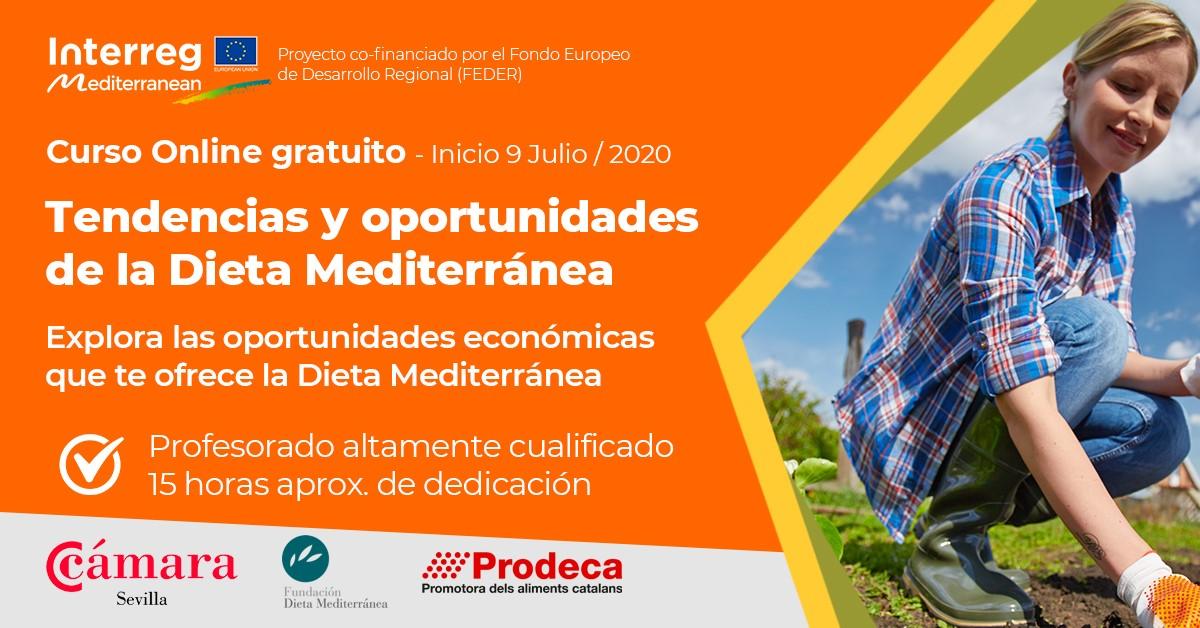 Nuevo curso gratuito sobre las oportunidades económicas de la Dieta Mediterránea