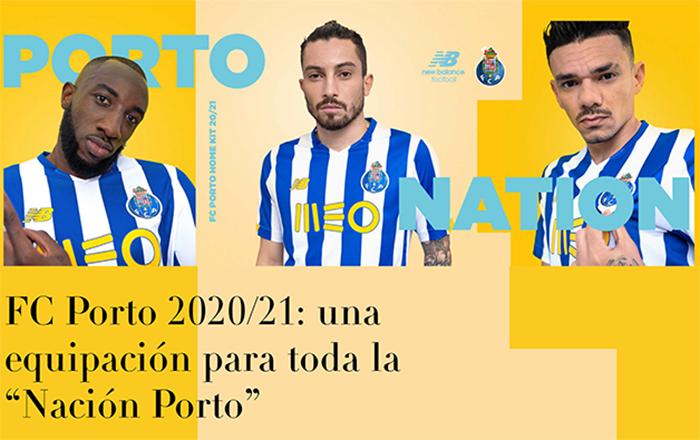 New Balance presenta la primera equipación del Porto para la próxima temporada