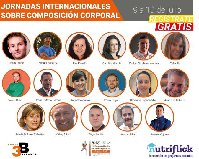 Se inician las Jornadas Internacionales Sobre Composición Corporal