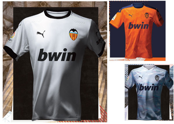 Puma lanza la nueva equipación del Valencia CF