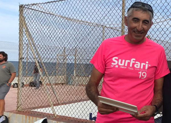 Tercer triunfo consecutivo de Jordi Sabater en la regata Les Formigues-Balelles