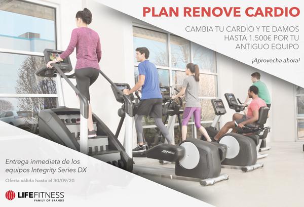 Life Fitness lanza un espectacular plan 'Renove'