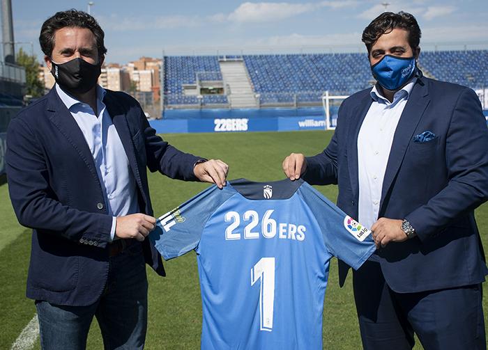 226ers firma como colaborador oficial del FC Fuenlabrada