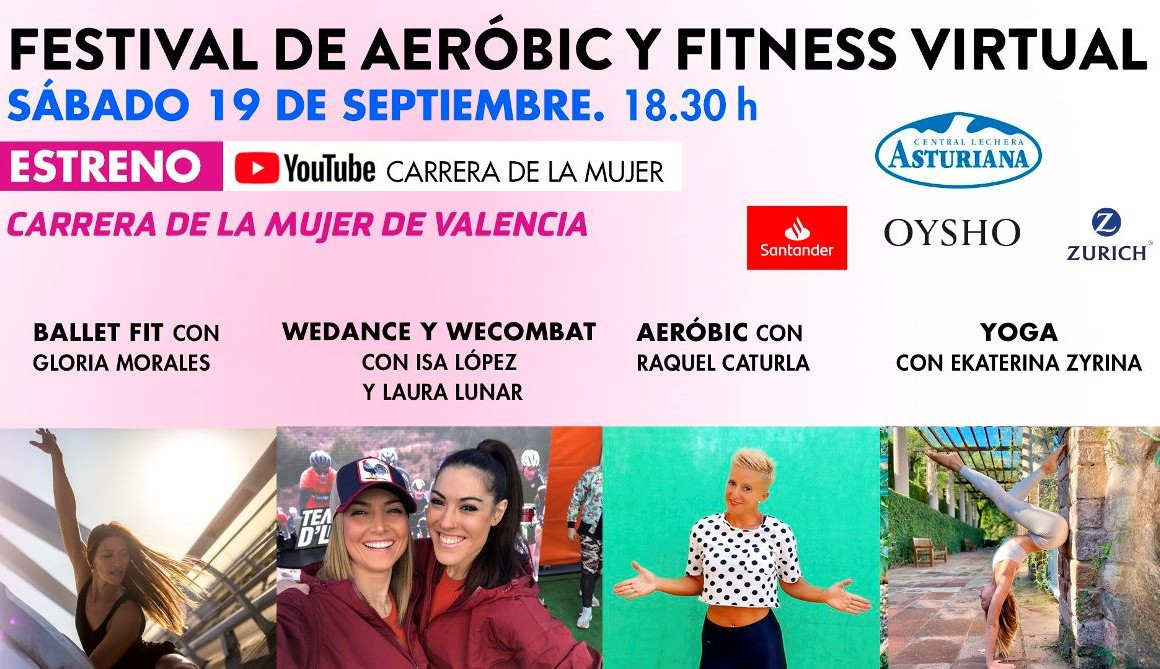 Ultiman el Festival de Aerobic y Fitness Virtual