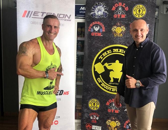 Oss Fitness realiza una nueva incorporación a su equipo de Etenon athletes