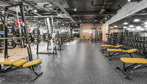 Nueva era del entrenamiento de fuerza con la Axiom Series de Life Fitness