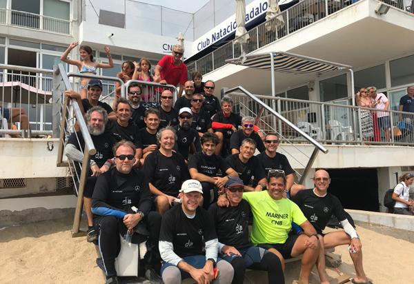 El Club Natació Badalona 'desenfunda' talento para la final del Trofeo Adipav-Covid-19