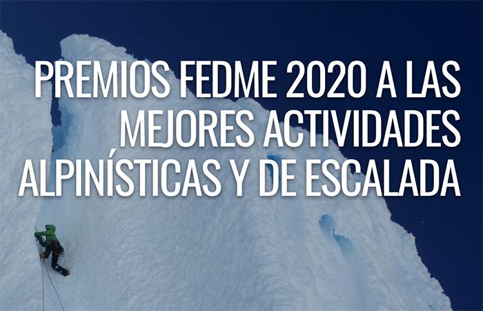 La Fedme abre la convocatoria de sus premios de alpinismo y escalada