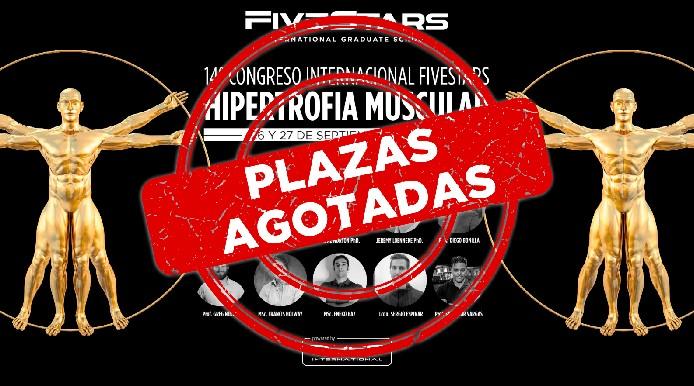 Fivestars IGS agota todas las plazas para el 14º Congreso Internacional Hipertrofia Muscular