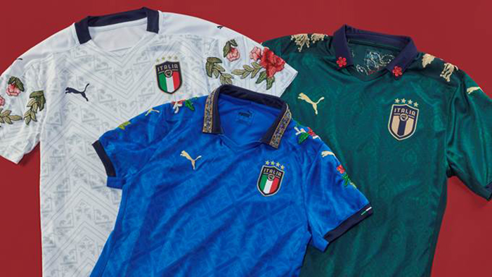 Puma se alía con Football Gal para diseñar camisetas de la federación italiana