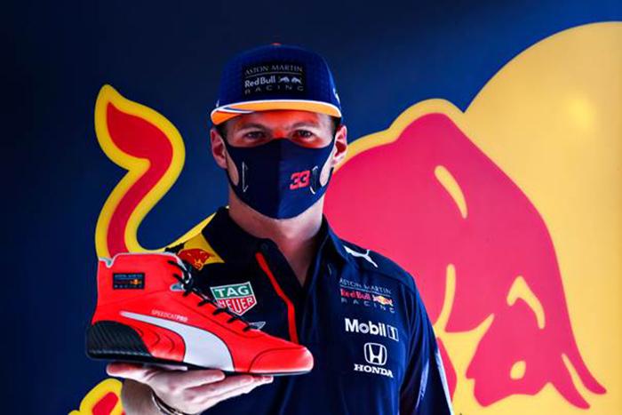Puma lanza una edición limitada de las botas de carrera de Max Verstappen