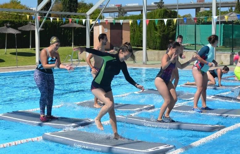 Las instalaciones deportivas SADUS refuerzan sus entrenamientos acuáticos