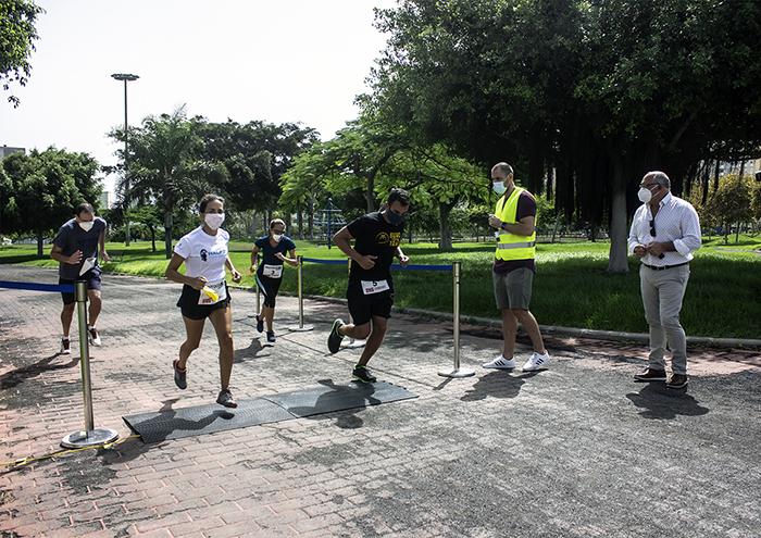 Las pruebas deportivas de Canarias ensayan protocolos de seguridad para su desbloqueo