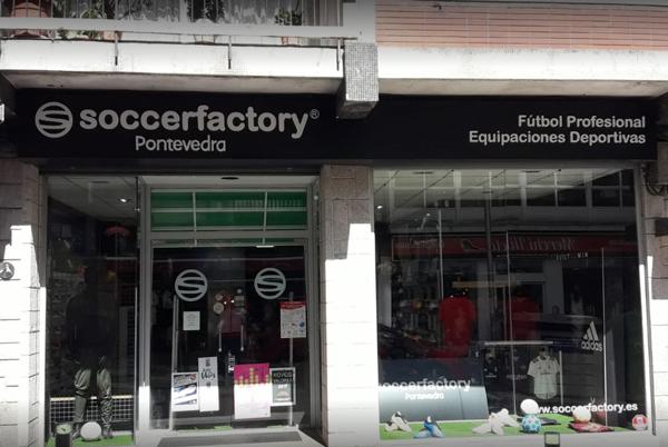 La facturación de Soccerfactory en equipaciones cae a la mitad
