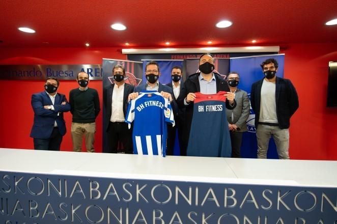 BH Fitness es el nuevo patrocinador del Grupo Baskonia-Alavés