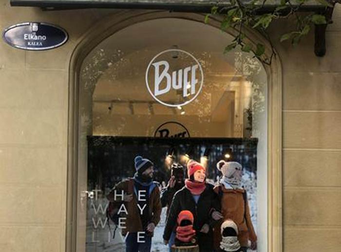Buff reabre su tienda temporal de San Sebastián