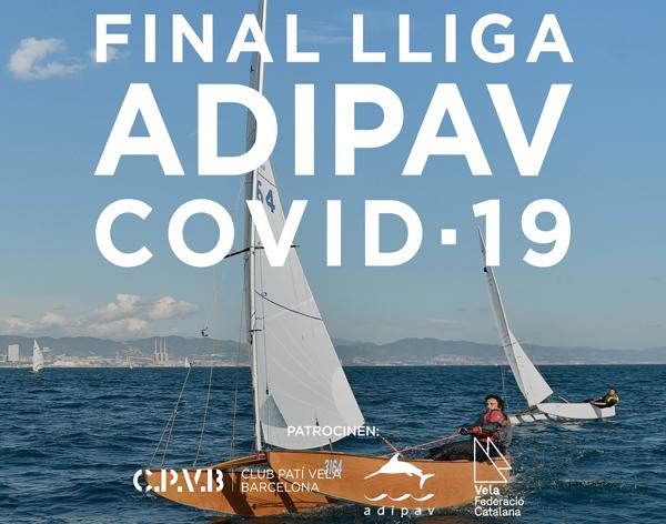 Unos 60 regatistas tomarán parte en la Final de la Liga Adipav-Covid-19