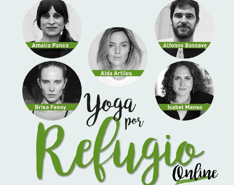 CEAR organiza 'Yoga por Refugio Online', una sesión solidaria