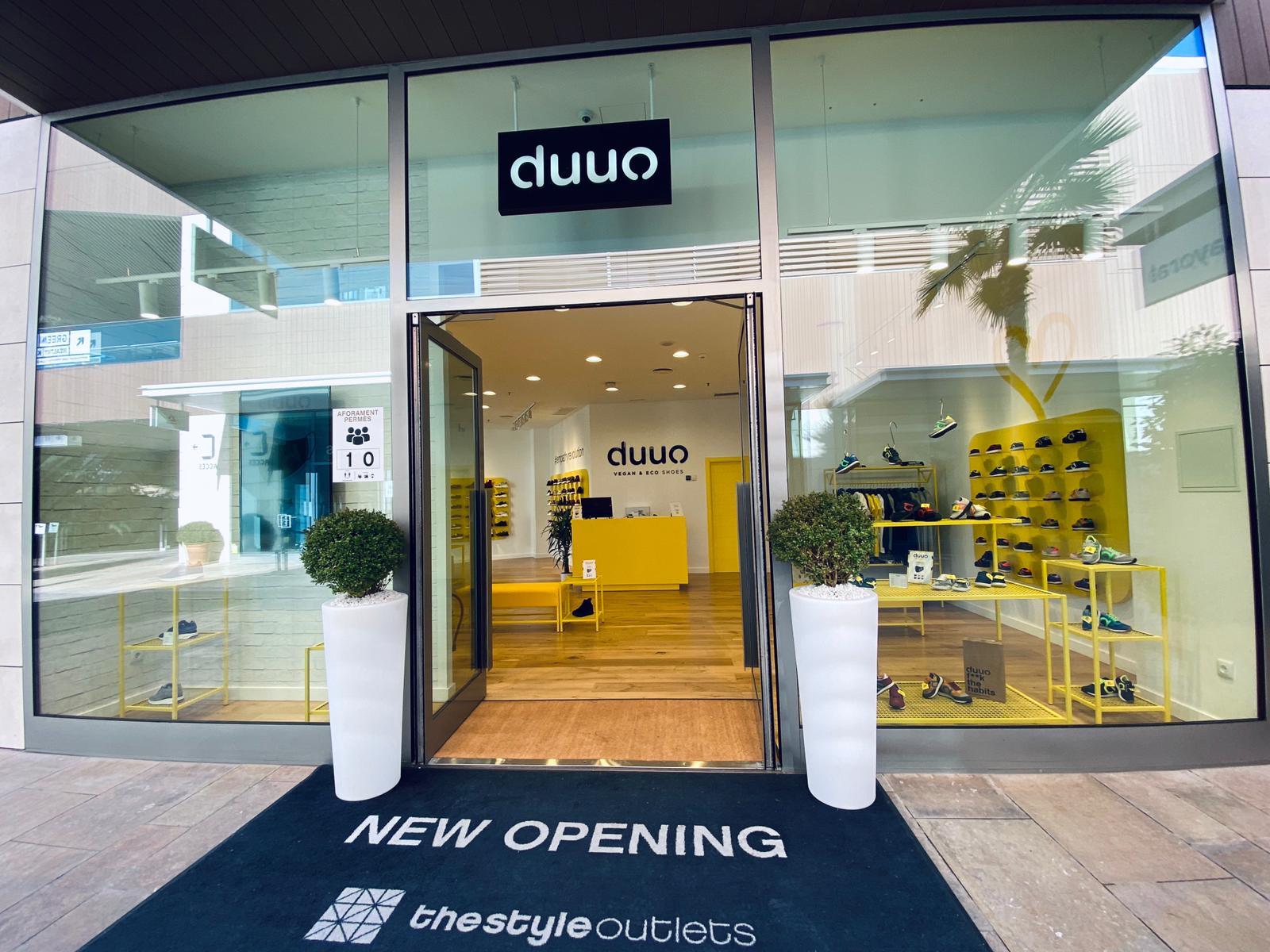 Duuo, la marca de sneakers de Munich, abre su primera tienda offline