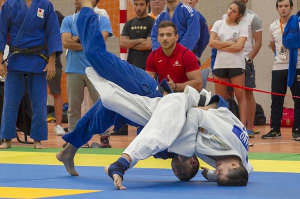 El judo español inmovilizado por las restricciones sanitarias