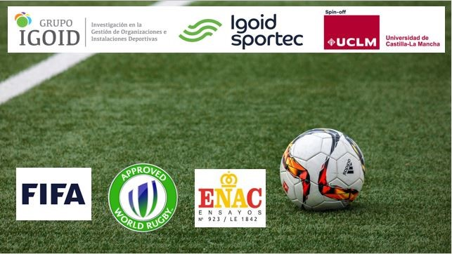 FIFA acredita a IGOID-Sportec para realizar ensayos técnicos en campos de césped artificial