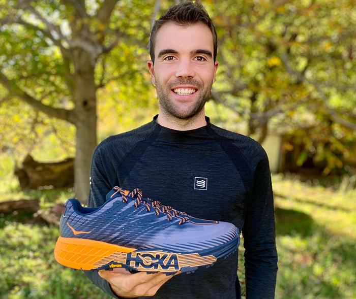 Hoka One One presenta las zapatillas de trail de su equipo español