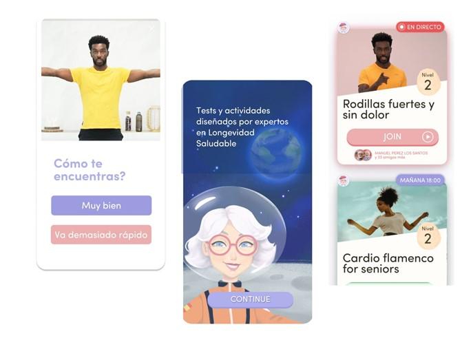 La app Rosita recauda más de 400.000 euros para sus programas 'longevity'