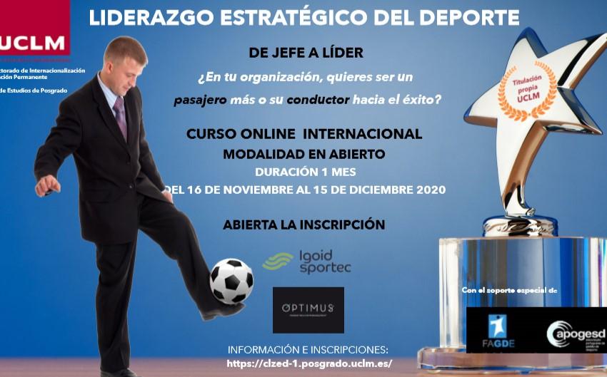 'Liderazgo Estratégico en el deporte', nuevo curso de IGOID