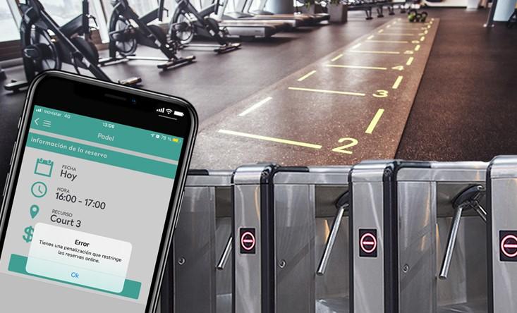 Nubapp destaca la importancia de penalizar al usuario que no acude a la reserva del gimnasio