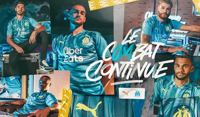 Puma se inspira en la música para la tercera equipación del Olympique de Marsella