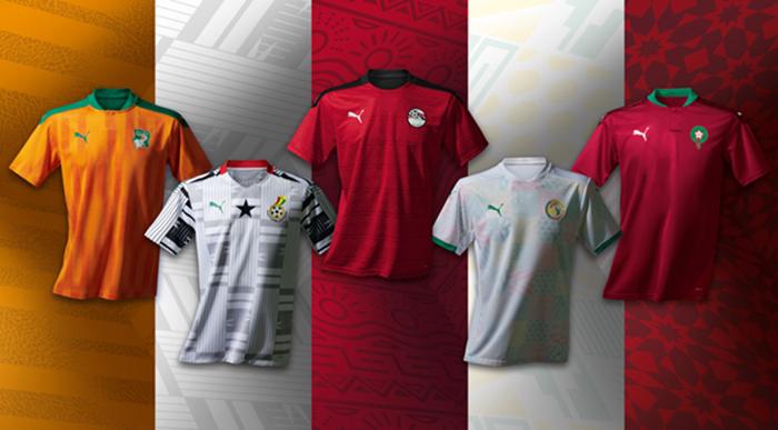 Puma presenta las equipaciones de cinco selecciones africanas
