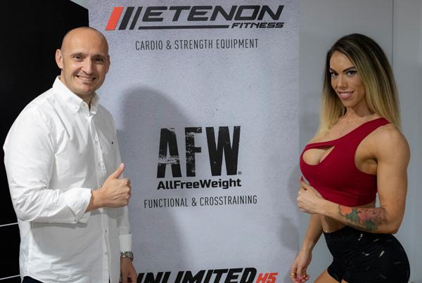 Etenon Fitness suma a Cristina Bago a su élite de deportistas prescriptores