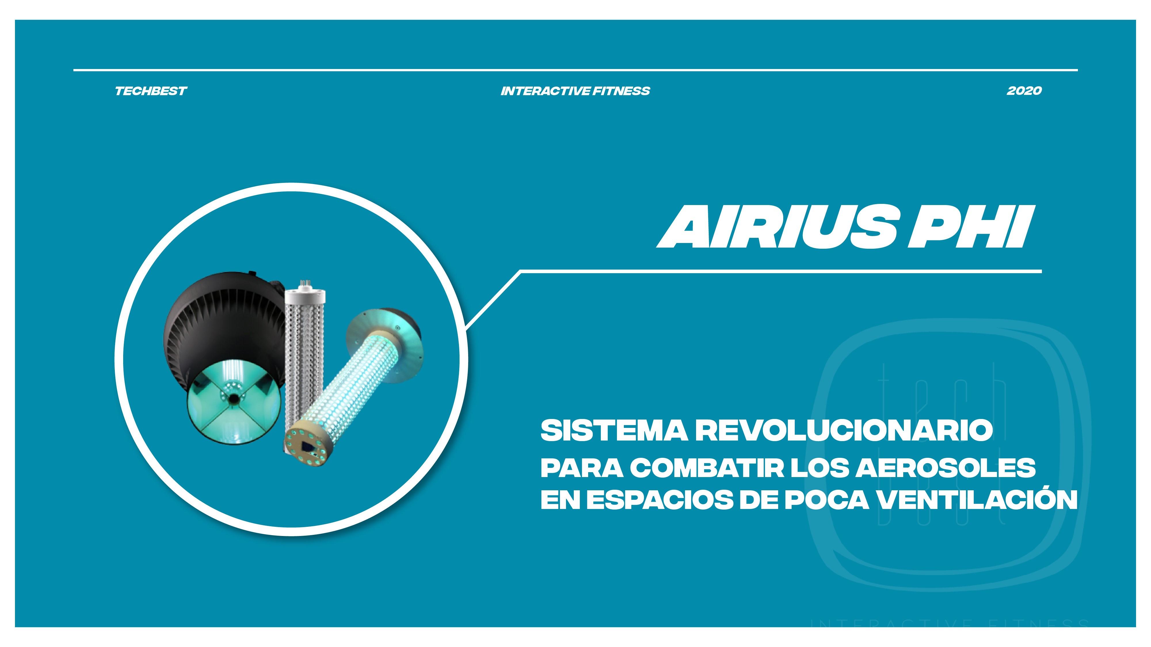 Tech-Best distribuye Airius PureAir PHI para combatir los aerosoles