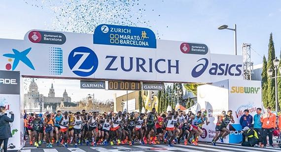 La edición virtual de la Zurich Marató de Barcelona provoca disparidad de opiniones