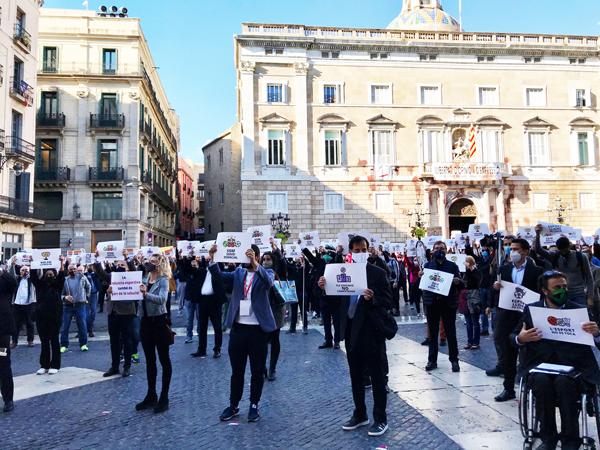 El deporte catalán pide a la Generalitat la apertura total a partir del próximo lunes
