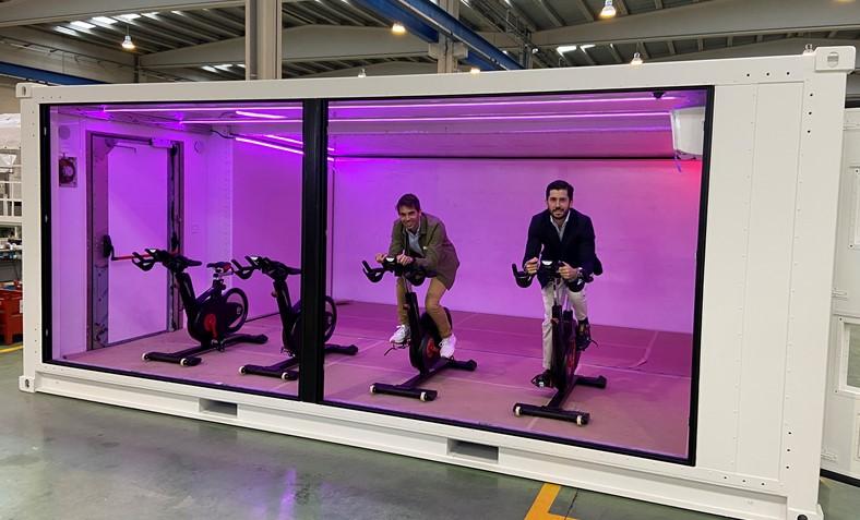 Cubolife prevé instalar en España 100 gimnasios modulares en tres años