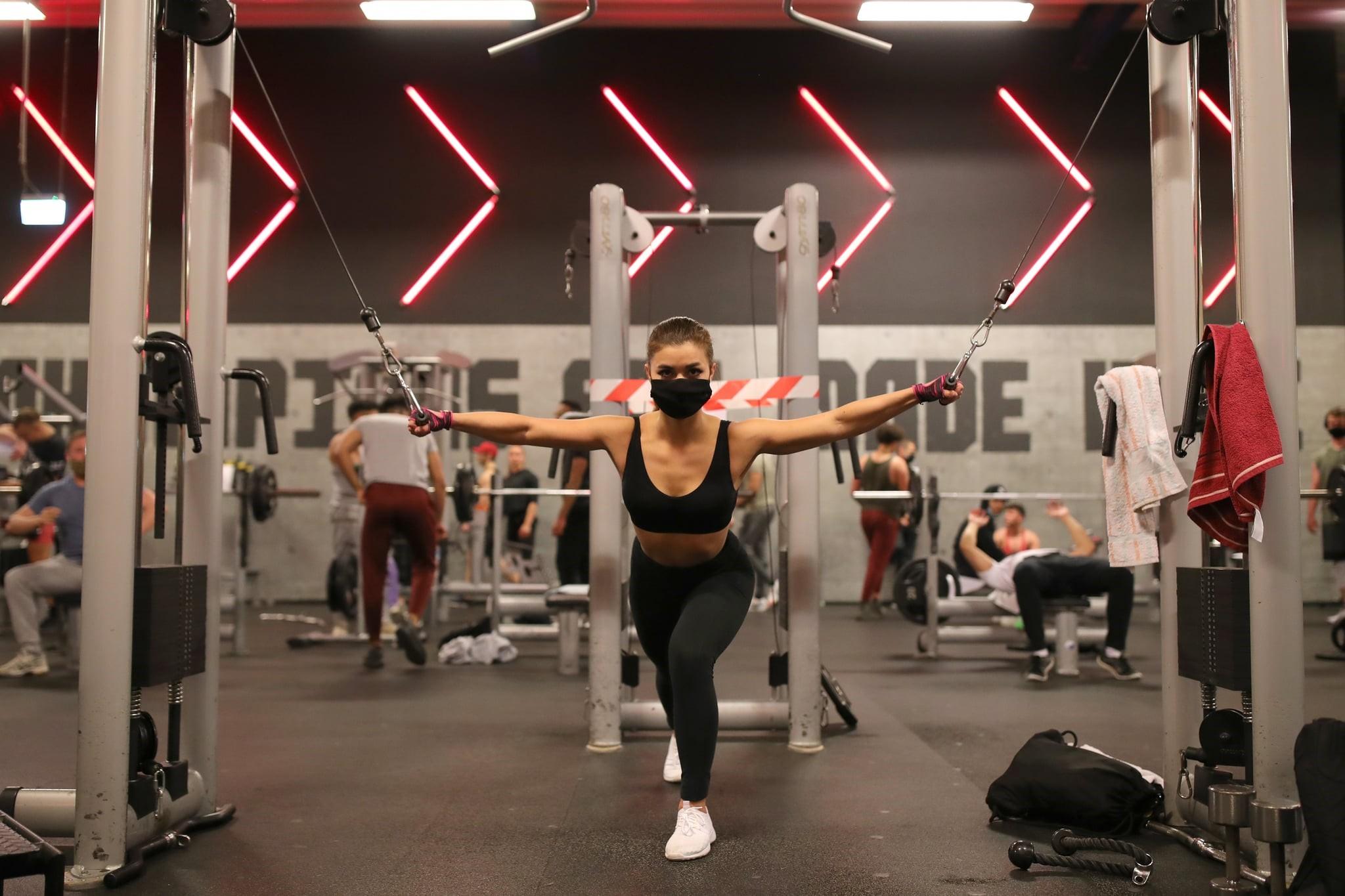 Persiste la caída de socios y accesos en los gimnasios durante octubre