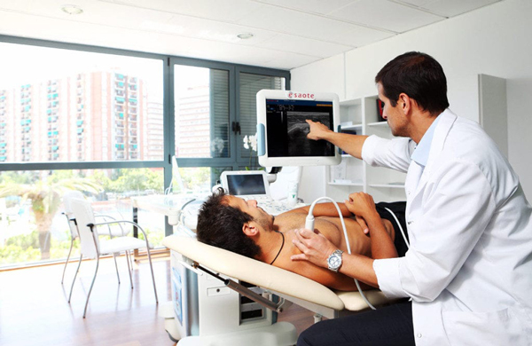 Diagnóstico de lesiones musculares o de tendón con la ecografía musculoesquelética