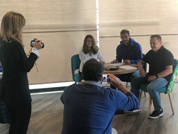 Drop Shot renueva su contrato de patrocinio con Juan Martín de manera vitalicia
