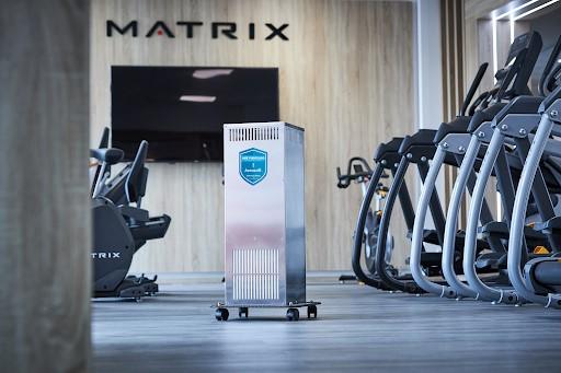 Matrix fitness presenta AernoviR para purificar el aire