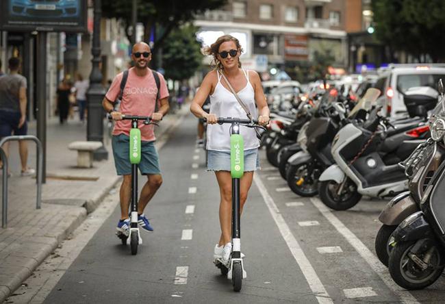 El gobierno asimila los patinetes eléctricos al resto de vehículos de motor